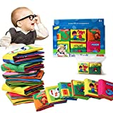 Bambino Cognition libro (6 PCS), Wholethings Intelligence Development panno Animal libro Learning & Activity giocattoli per i bambini neonati