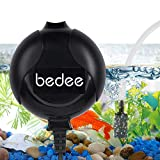 Bedee Air Pump, Aquarium Air Pump Fish Tank Air Pump Oxygen Supply Silent