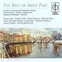 The Best of Arvo Pärt [Import anglais]