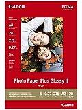 Canon Photo Paper Plus Glossy II PP201 papier photo A3 20 feuilles