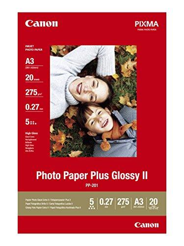 Preisvergleich Produktbild Canon PP-201 Fotoglanzpapier Plus (275 g/qm), A3, 20 Blatt