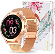 AneyWell Smartwatch Donna Fitness Orologio Intelligente IP68 Impermeabile Sportive Fitness Tracker Bluetooth S
