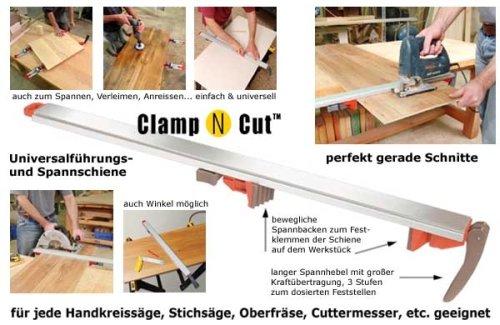 Preisvergleich Produktbild Universal-Führungsschiene Clamp N Cut 80 cm