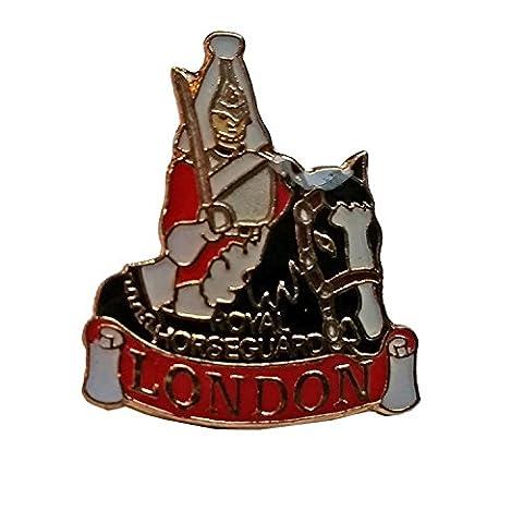 # 1BEST Verkauf, Englisch Royal HorseGuard/montiert Pferd Patrol/montiert Guard UK Revers Badge Pin Souvenir. Souvenir/Speicher/MEMORIA. Rot, schwarz und weiß Metall und Emaille London, England British UK-Englisch Royal HorseGuard/montiert Guard Anstecknadel. Eine elegante, einzigartig British Souvenir. épinglette/Anstecknadel/spilla/PERNO de la SOLAPA.