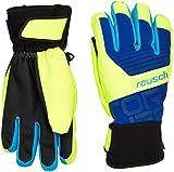 Reusch Kinder Torbenius R-TEX XT Junior Handschuhe, Imperial Blue/Neon Yellow, 6.5