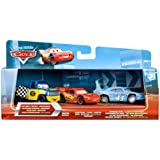 Cars T0315 – Value Miniature 3 Police Vehicles Cars Dexter Hoover/Chequered Flag Race Damaged King