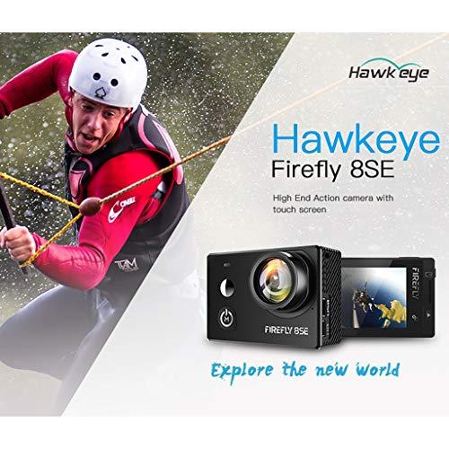 Mitlfuny RC Quadrocopter Drohne,Neue Hawkeye Firefly 8SE 4K 170-Grad-Bildschirm WiFi FPV-Action-Kamera -