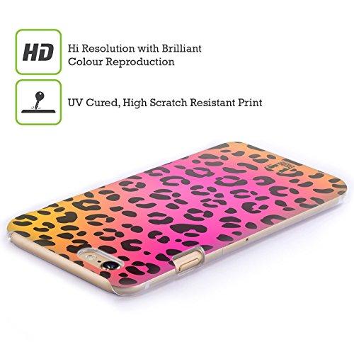 Head Case Designs Leopard Rosa Verrückte Drucke Ruckseite Hülle für Apple iPhone 6 / 6s Leopard Rosa