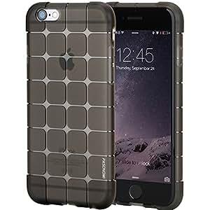 iPhone 6S Plus Case, iPhone 6 Plus Case, Pasonomi® Slim Transparent Clear Bumper Case with Soft Flexible TPU Material for iPhone 6 Plus/iPhone 6S Plus (5.5 inch) (Black)
