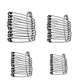 Assorted Safety Pins Pack of 48 - Selection of 4 Sizes