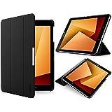 Samsung Galaxy Tab S3 9.7 Hülle - iHarbort Ultra Slim Leder Tasche Hülle Etui Schutzhülle Für Samsung Galaxy Tab S3 9,7 Zoll SM-T820 T825 Case Cover Holder,mit Schlaf / Wach-up-Funktion,Schwarz