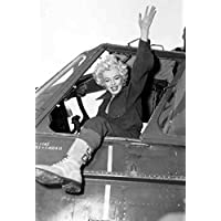 Photo Monroe Marilyn 082 A4 10x8 Poster Print