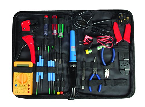 maplin-20-part-electronics-electricians-computer-pc-repair-maintenance-tool-kit-soldering-iron-multi