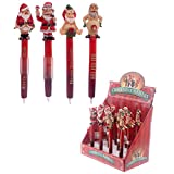 Böser Weihnachtsmann Kugelschreiber, Kuli, Weihnachten, Gadget, Give Aways
