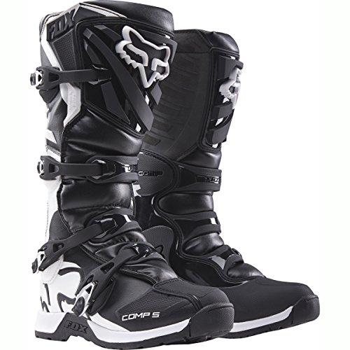 Preisvergleich Produktbild Fox Motocross-Stiefel Comp 5 Schwarz Gr. 42.5