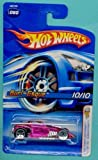 Mattel Hot Wheels 2005 First Editions 1:64 Scale X-Raycers Clear Purple burl-Esque Die Cast Car #060 by Mattel