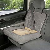 PetSafe SOLVIT Auto Cuddler, klein, grau, Auto-Sitzbezug für Haustiere, passt Bucket Sitze oder ein Teil von Bench Plätzen, ideal für Autos, Lkws und SUVs