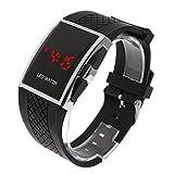 SKMEI LED Watch LED Digital Uhr Sportuhr Armbanduhr Unisex Schwarz