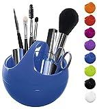Spirella Kosmetikorganizer Bowl Aufbewahrungsbox für Make Up und Schmuck 10,5x9,5cm Blau