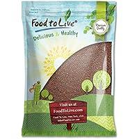 Food to Live Las semillas de brócoli para brotar (Kosher) 4.5 Kg