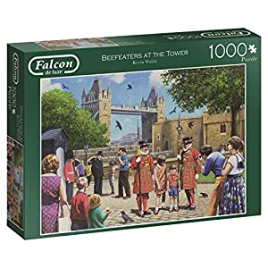 Jumbo- Beefeaters at The Tower Puzzle de 1000 Piezas (611177.0)