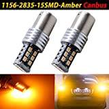 TABEN 2 x CanBus Libre de Errores Super Brillante 1156 2835 15-EXChipsets 1156 1141 1003 7506 LED Bombillas usadas para Luces de Marcha Atrás, Xenón Blanco