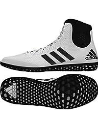 adidas Tech caída 16Río de lucha libre zapatos WHITE-RED