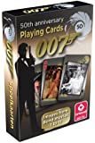 Cartamundi James Bond 50th Anniversary Playing Cards with Images from Bond Movies 1 to 11