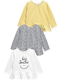 Inconnu Next Lot de Trois T-Shirts (0 À 2Ans) Bébé Fille
