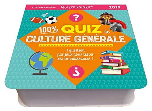 Quizmaniak Quiz spécial énigmes 2019