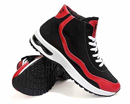 Uomini Traspirante Scarpe Da Corsa Autunno Nuovo Scarpe Casual Leggero Scarpe Da Ginnastica Red