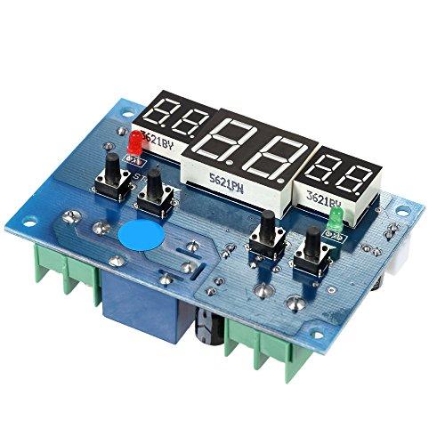 KKmoon Intelligente digitale LED-Thermostat 12V Temperaturregler-9 ° C bis 99 ° C Heizung Regelung Kühlen -