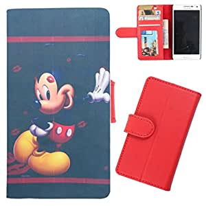 DooDa - For Sony Xperia Z Ultra PU Leather Designer Fashionable Fancy Wallet Flip Case Cover Pouch With Card, ID & Cash Slots And Smooth Inner Velvet With Strong Magnetic Lock