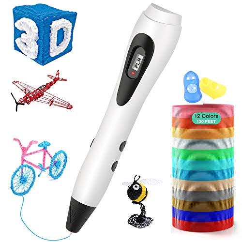 ShuBel Stylo 3D Professionnel, Créatif 3D Pen Ecran LCD...