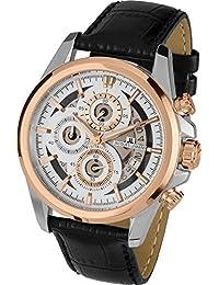 Jacques Lemans Herren-Armbanduhr Chronograph Quarz 1-1847C