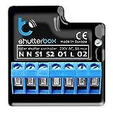 Blebox Shutterbox drahtlose Steuerung von elektrischen Rollläden Smart Home