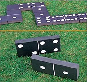 Giant Dominoes Garden Patio Outdoor Game for Kids Children-Adults Summer Fun