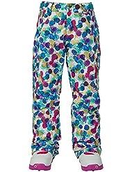 Burton niña Elite Cargo Pants Pantalón de snowboard, color rainbow drops, tamaño medium