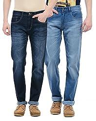 Monte Carlo Men Casual Jeans(_8907679807225_Blue_32_)