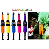 Nyaara Prefilled Holi Harbal Gulal Colour Shooter 1 Pcs, Assorted