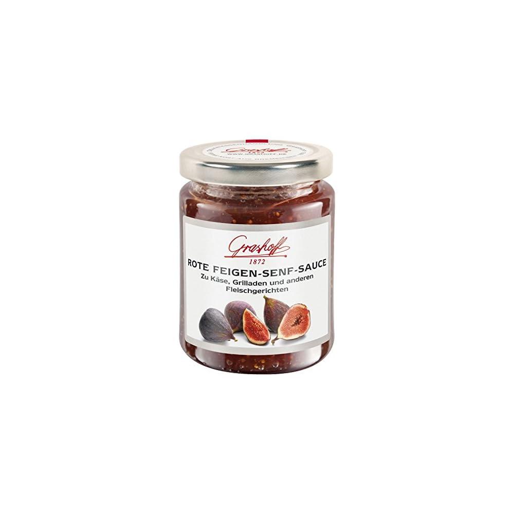 Rote Feigen Senf Sauce 125 Gr Grashoff 1872