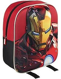 Marvel 210000160031cm Iron Man 3d Character Junior mochila