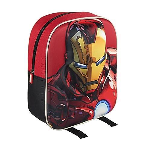 Marvel-2100001600-31-cm-Iron-Man-3d-Character-Junior-mochila