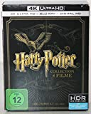 Harry Potter Collection 4 Filme (4K Ultra HD + 2D-Blu-ray) [8 Disc Version ]