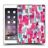 Head Case Designs Offizielle Ninola Pink Wasserfarben Soft Gel Hülle für iPad Air 2 (2014)