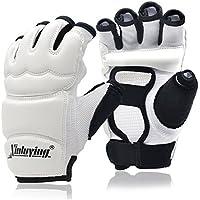 Xinluying Punch Bag Boxing Gloves Taekwondo Karate MMA Martial Arts Sparring Muay Thai Training Gloves Kids Women Men