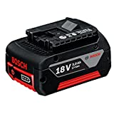Bosch Professional GBA 18 V 3,0 Ah M-C, 18 V Akkuspannung, 3 Ah Akkukapazität, 600 g Gewicht