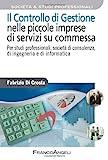 Scarica Libro Il controllo di gestione nelle piccole imprese di servizi su commessa Per studi professionali societa di consulenza di ingegneria e di informatica (PDF,EPUB,MOBI) Online Italiano Gratis