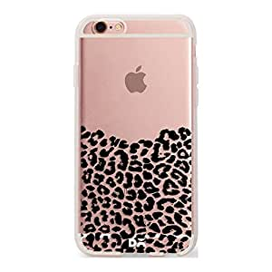 DailyObjects Wild Black Leopard Silicone Clear Case For iPhone 6S
