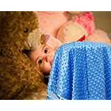 Kiddale Super Premium Ultra Soft Double Layer Polyester Coral Fleece Baby Blanket, AC Quilt, Portable And Breathable For Newborn Infant To Make Him Feel Cozy And Comfortable